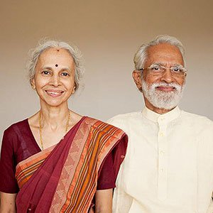 A.G. Mohan and Indra Mohan